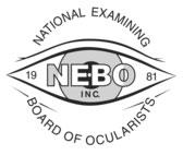 logo for National Examining Board of Ocularists